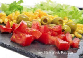 Corn & Black Bean Chopped Salad