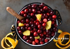 Four Ingredient Cranberry Sauce