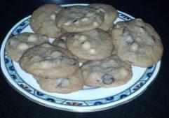 Dark Chocolate, Hazelnut & Anise Cookies