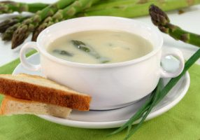 Early Spring Asparagus Soup