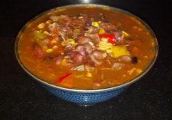 Fiesta Bean & Chicken Soup 4