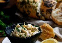 Garlic White Bean Dip With Herbs