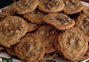 Ginger Chocolate Chip Cookies 2