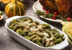 No Bake Green Bean Casserole
