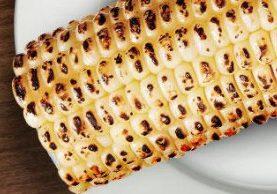 Grilled Honey Dijon Corn