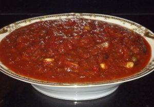 Healthy Puttanesca Pasta Dinner 2