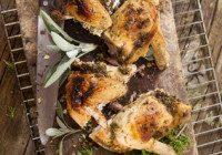 Herb Roasted Butterflied Chicken