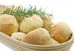 Lemon Rosemary Potato Rolls