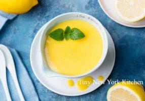 Lemon Zest Custard