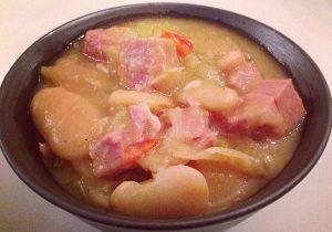 Lima Bean & Ham Soup