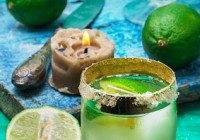 Lime Rum Cocktail