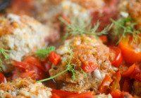 Chicken Parmesan Meatballs