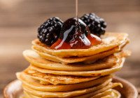 Mini Pancake Stacks