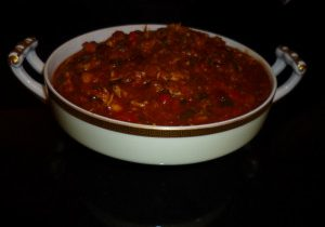 Victoria's Chorizo & Turkey Chili