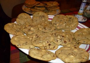 Victoria's White & Dark Chocolate Chip Cookies