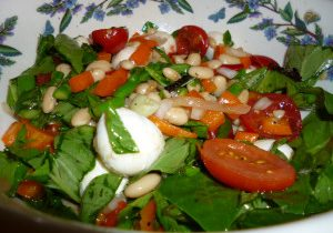 Mozzarella & White Bean Salad