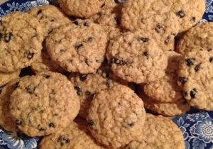 Perfect Blueberry Oatmeal Cookies