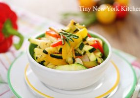 Pickled Zucchini Salad