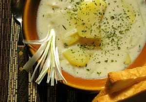 Rustic Potato Cheddar Soup