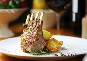 Balsamic & Rosemary Roast Rack Of Lamb
