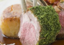 Rack Of Lamb With Sage Crust