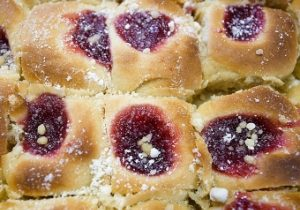 Raspberry Kolaches