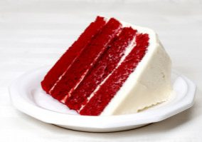 Holiday Red Velvet Cake