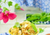 Rice With Chicken & English Peas