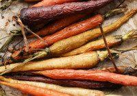 Harissa Roasted Carrots