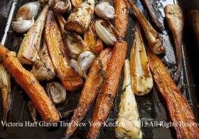 Roasted Parsnips & Carrots