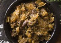 Rustic Sausage & Sauerkraut Stew