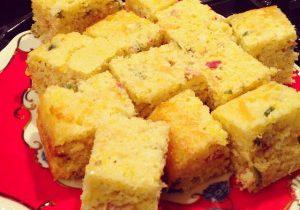 Serrano Chile & Bacon Corn Bread