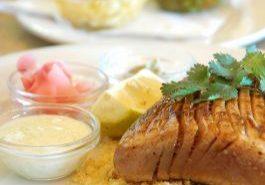 Sesame Ginger Grilled Tuna Steaks
