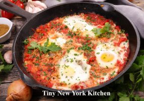 Tomato Poached Eggs