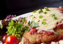 One Skillet Chicken Parmigiana