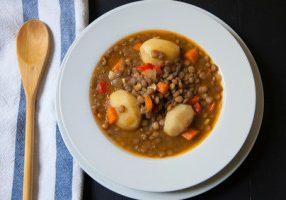 Spicy Lentil & Potato Stew