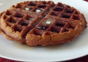 Sunday Morning Cinnamon Waffles