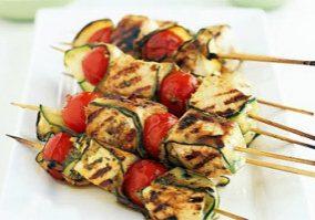 Swordfish Kebabs