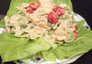 Tuna & Bow Tie Pasta Salad