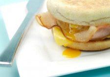 Turkey & Cheese Breakfast Sandwiches