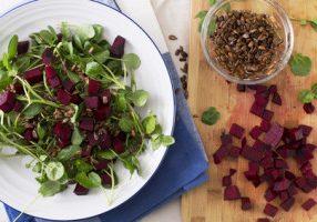 Watercress & Beet Salad