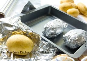 Potatoes In Foil With Mascarpone