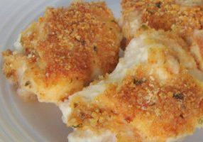 Parmesan Oven Baked Chicken