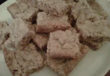 toffee ginger shortbread
